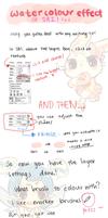 SAI -- HOW TO: Watercolour Effect by onisuu