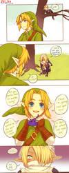 Zelda -- Can't keep a secret by onisuu