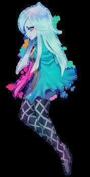 Zelda -- Long-haired Fi (+spdpaint) by onisuu