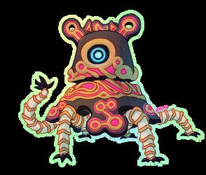 botw -- Guardian Stalker by onisuu