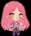 1.1M kiriban -- Roselle for Whybrid by onisuu