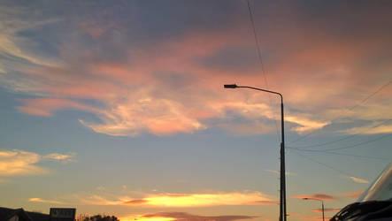 Beautiful Sunset by GalacticNightSky99