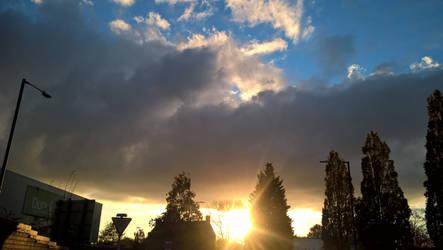 Beautiful Sunset 4 by GalacticNightSky99