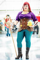 Steampunk Ariel The Little Mermaid Cosplay #2 by SchaefersWar