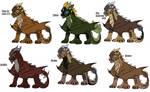 moar dragons! by Kitrei-Sirto