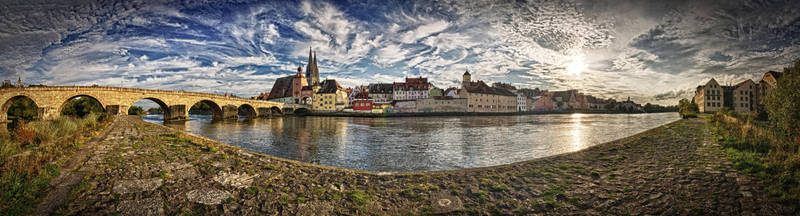 Regensburg Panorama by StefanEffenhauser