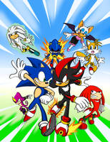 Sonic Rivals 2 by pedrocorreia