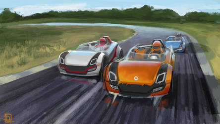 Smart on track by lukas-art