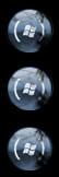windows 7 start button by dahouse1123