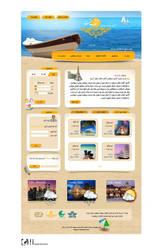 Aftab gasht  Travel agency web template by ghazalehv