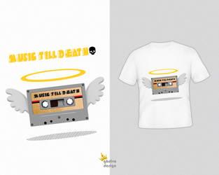 Cassette  T shirt by ghazalehv