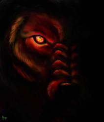 Hellhound by Hirukafox