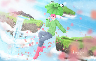 Gusty Garden Gal by sir-swift