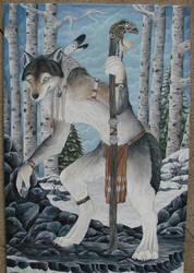 White Walker by SpottedNymph
