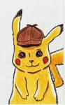Detective Pikachu by nightcat17