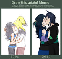 Draw this again: 2008vs2019 by ayameiris