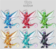Aura Forge: Flyte Species by Jackalune