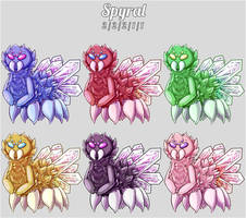 Aura Forge: Spyral Species by Jackalune