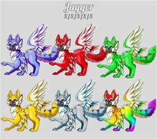 Aura Forge: Jayger Species by Jackalune