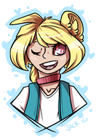 HL: Melodie Headshot by Jackalune