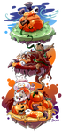 Griffia: Samhain - Friendship Mission by Jackalune