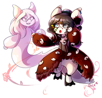 Griffia: COM - Danielle-chan 1/2 by Jackalune