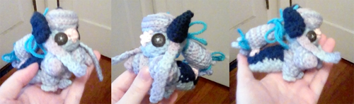 Griffia: Crochet Tox for cutecloudii by Jackalune