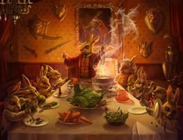 Brave Hare by AnastasiaReddress