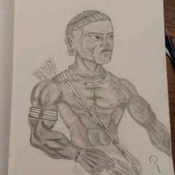 Warrior by RichNicholsJ