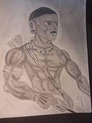 Warrior (updated) by RichNicholsJ