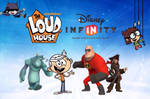 The Loud House Disney INFINITY poster by cartoonmaster01