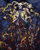 Carrion's Ressurection From Abarat 3, page 183 by CliveBarker