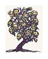 Skull Tree by CliveBarker