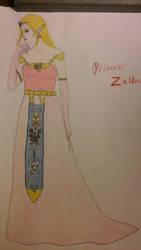 Princess Zelda by FantasyFeathers