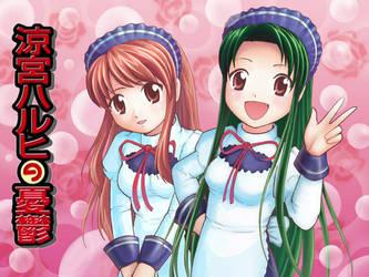 Fanart: Mikuru and Tsuruya by Serio555