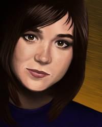 Ellen Page by spunionring