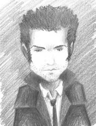Lucien Gagnon Chibi Avatar Sketch by spunionring