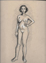 Figure drawing, standing by spunionring