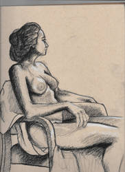 Figure drawing, sitting by spunionring