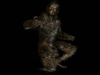 Werewolf 3D by maximoos