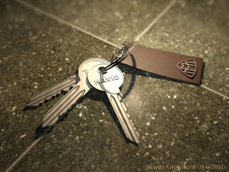 Keychain by maximoos