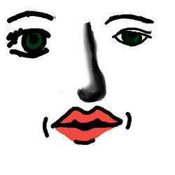 various facial features practi by MountainGirl96