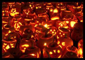 Pumpkin Patch by salamiatomi