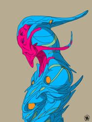 Alien by 4EDOM88