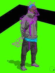 Teen Wolf: Neon Nightz by 4EDOM88