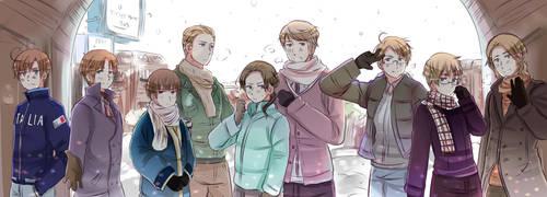 Merry Christmas by VIV-I