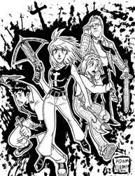Manga Buffy by jmatchead
