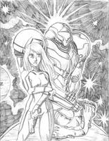 Metroid Pencils by jmatchead