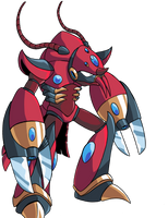 MMX Commission: Hydro Lobster by jmatchead