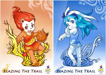 YOG 2010 - Blazing The Trail by StrayShadow
